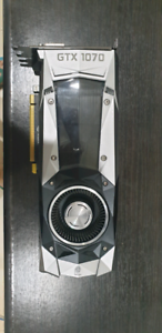 Nvidia GeForce GTX 1070 Founders Edition 8GB GDDR5
