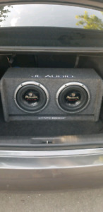 1600w RMS .!!!Pioneer Champion series PRO 10 inch subwoofers