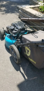 Lawn mower. Self-propelled. 163cc. Almost new