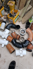 Waste fittings 110mm 4 inch pipe