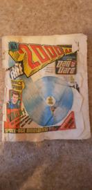 2000AD Comics Program 1 to 135