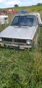 2 1980s VW rabbits cabriolet for parts or project