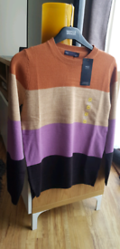 Mark's & Spencer Supersoft Brown Mix Jumper Size 6 BNWT