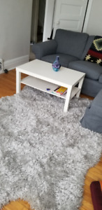 NEW* Shag Rug for Sale: Light Grey!!