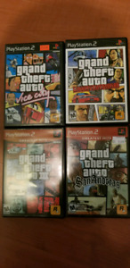 Grand theft auto ps2, playstation