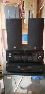 Sony stero with PSB speakers