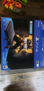 PS4 1tb call of duty like new in box with 2 games
