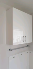 hi gloss bathroom cabinet like new wholesale domestic