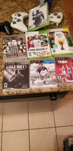 Xbox 360 and ps3 games $1