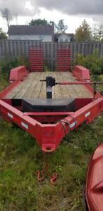 2001 Loadstar 6 Ton 18 Ft Equipment Trailer