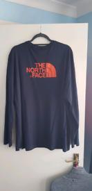 Mens XL long sleeve North Face T Shirt