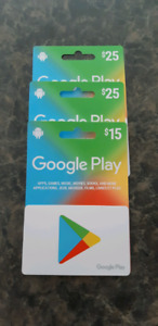 Carte google play
