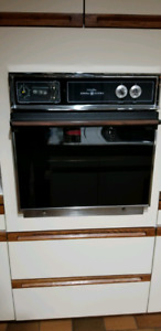 General Electric built in oven