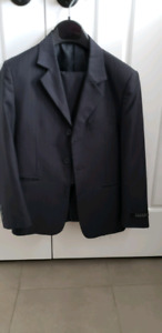 Boys black  size 10 suit