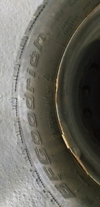 Set of 4 Goodrich winter tires: 175/70R14