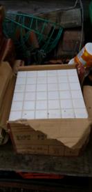 Porcelanosa White Tiles x 1 Box