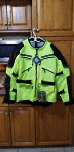 firstgear high visibility mesh motorcycle jacket