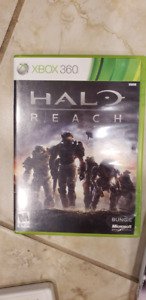 xbox360 HALO REACH MINT