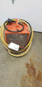Construction heater