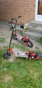 Need someone who knows how to build and fix standup scooters