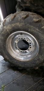 Polaris 700 rims and tires