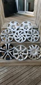 Enjoliveurs de roues 14-15-16-17 pouces