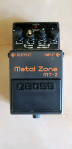 Used Boss Metal Zone