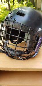 Kids Bauer Helmet - Size 48-52cm