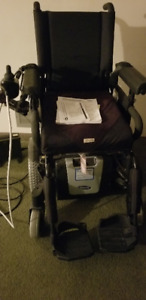 Never Used - Invacare Electric Wheelchair TDX-SP