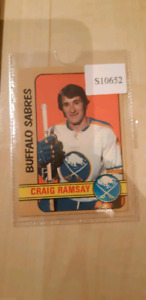 Craig ramsay rookie card.