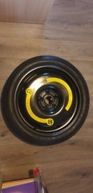 """Vw spare saver wheel nearly new 18"""""""