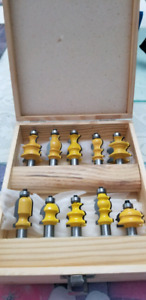 1/2 Shank Architectural Router Bits