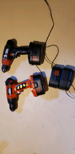 Black & Decker cordless drills