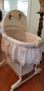 Light Brown Bily 2-In-1 Bassinet Owl