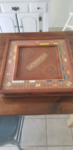 Wooden Monopoly Game