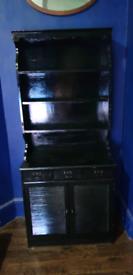 Black dresser cabinet cupboard