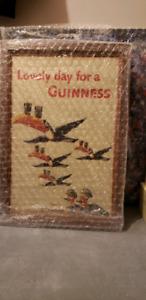 4 Framed Vintage Guinness Posters