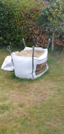 1 tonne bag plastering sand - collection only