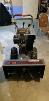 "Two stage 10hp Craftsman 30"" snow blower"