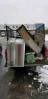 Free scrap metal pickup, junk removal