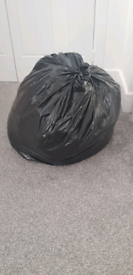 Bin bag full of boys clothes up to 3 month- 9-12 months