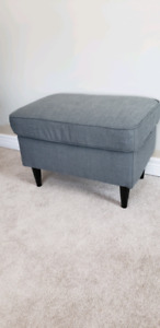 IKEA Grey Footstool For Sale! Never used!