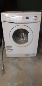 Compact front load washer
