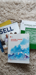 USED NSCC Business Textbooks Accounting