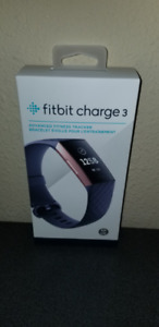 New sealed Fitbit Charge 3 in Rose Gold