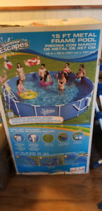 15 ft pool with Accessories