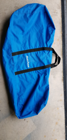 Boat outboard motor cover/carry bag