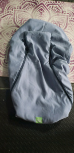 Blue Baby Parka Car seat cover