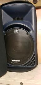 Mackie 1801 bass bins and srm450s v2s