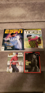 Tiger Woods magazine lot